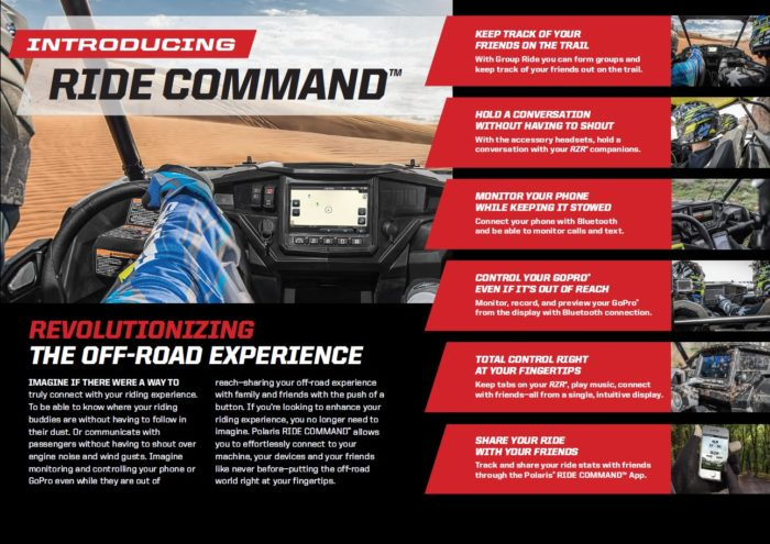 NEW Polaris Ride Command - Available Now · Industrial